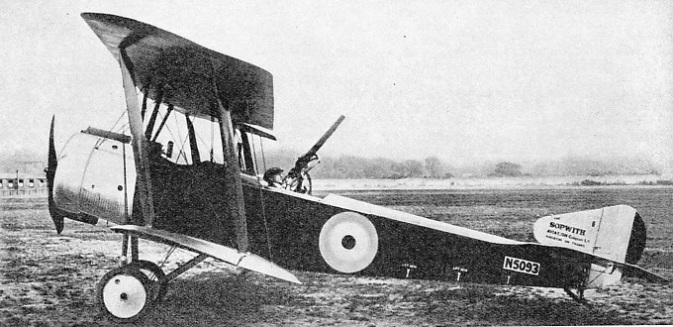 TWO GUNS WERE FITTED to the Sopwith 1½-Strutter