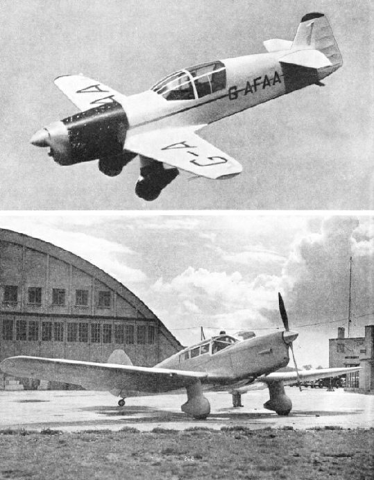 Percival aircraft types