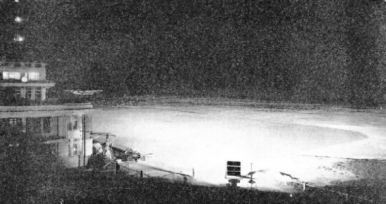 The Floodlit Landing Field at Croydon Airport