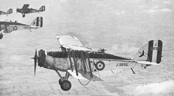 Wapiti aircraft of No. 601 Squadron