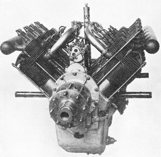 V-TYPE RENAULT AERO ENGINE OF 1913