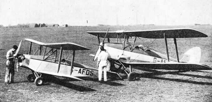 A Small Single-Seater Biplane