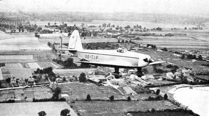 Belgian Tipsy single-seat monoplane