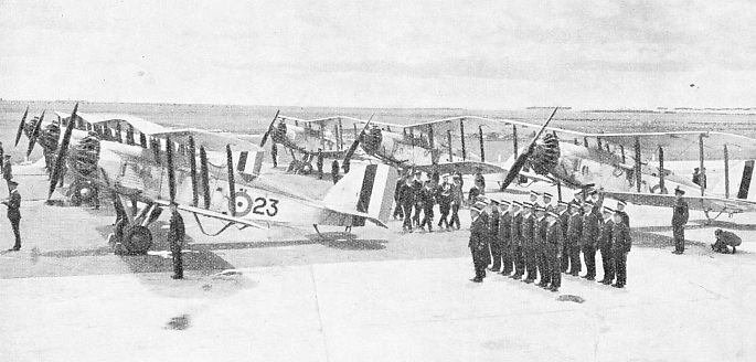 AN INSPECTION AT POINT COOK, VICTORIA, of the Royal Australian Air Force Station