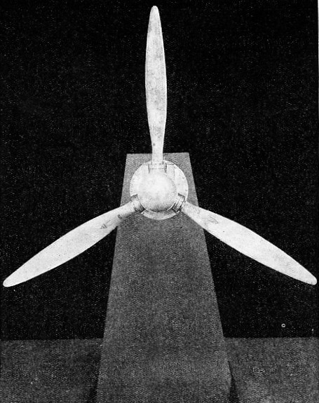 ALL-METAL AIRSCREW made by the Fairey Aviation Co, Ltd
