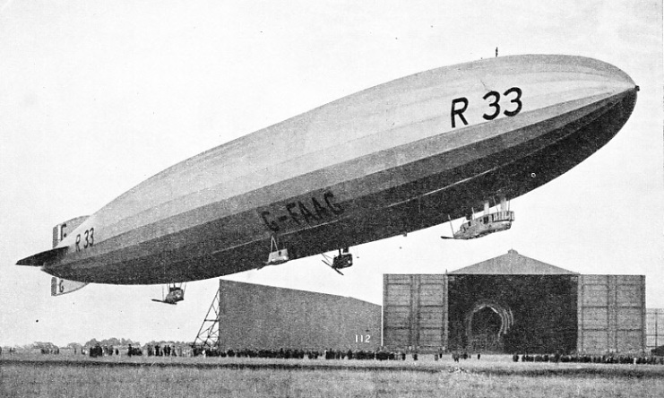 The rigid airship R 33