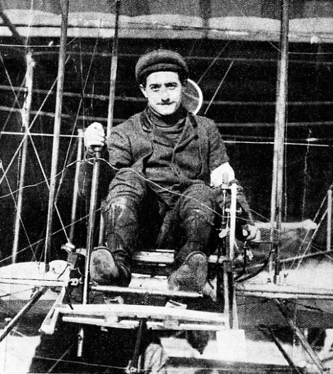 THE WINNER of the £10,000 prize for the flight from London to Manchester in 1910 was a Frenchman, Louis Paulhan
