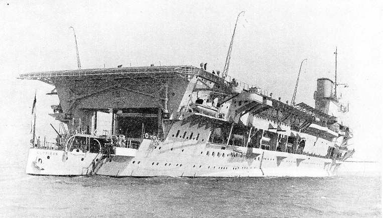 AIRCRAFT CARRIER HMS GLORIOUS