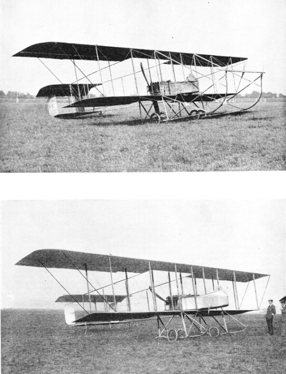 The Maurice Farman Longhorn and Shorthorn training machines