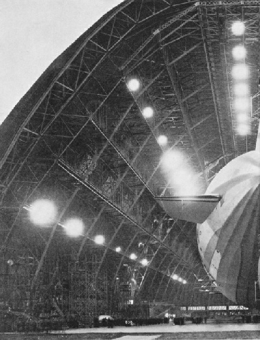 THE AIRSHIP CONSTRUCTION SHED at Akron