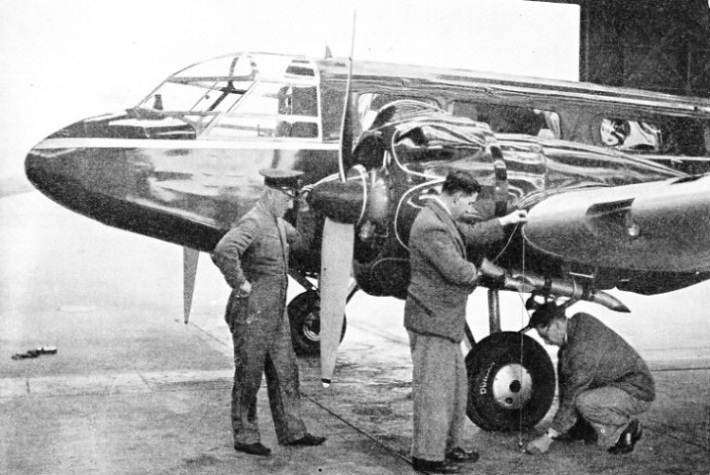 Engineers Checking the Trueness of an Airframe