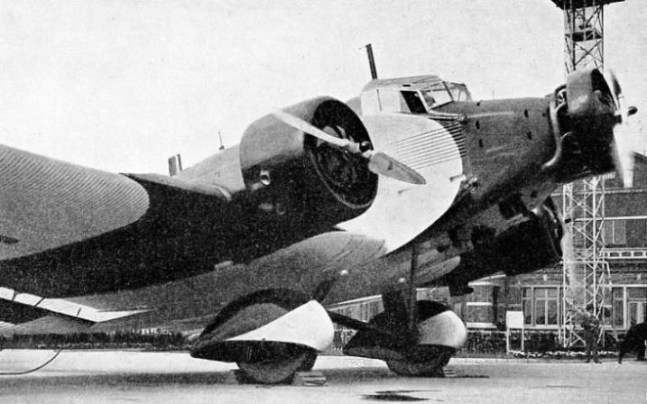 Junkers Ju 52 used by Sabena