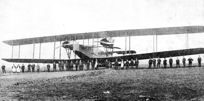 LONG-RANGE BIPLANE of the Handley Page type V/1500