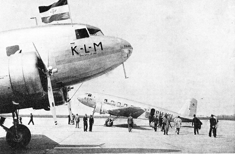 Two Air Liners of KLM