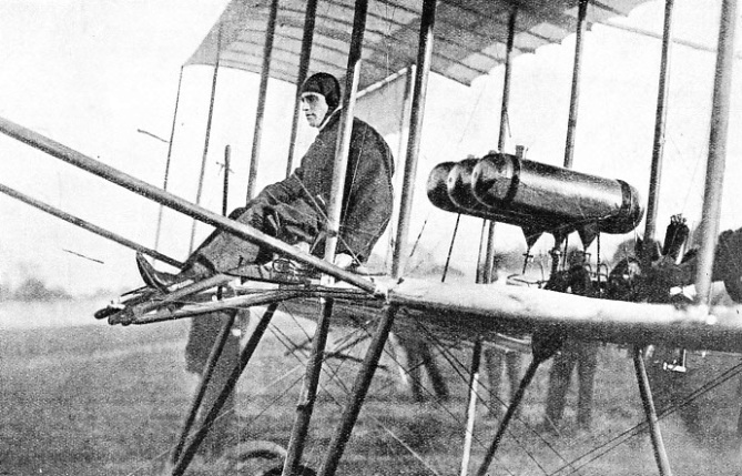 CLAUDE GRAHAME-WHITE took up flying in 1909
