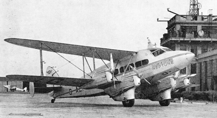 "The ""Neptune"" at Croydon Airport"