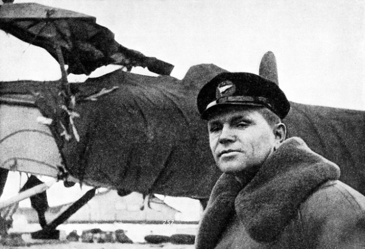 THE AVIATOR WHO FOUND THE FOUR SCIENTISTS on the ice floe
