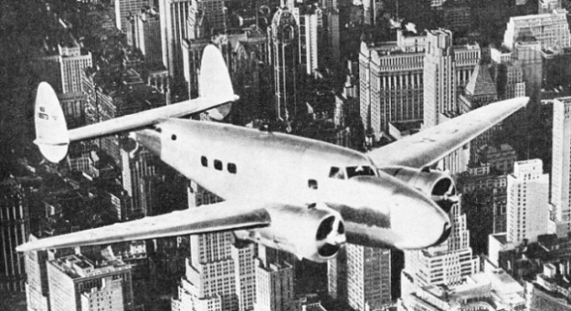 Howard Hughes' Lockheed 14 Air Liner