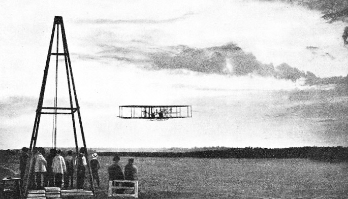 THE FIRST OFFICIAL FLIGHT OF MORE THAN ONE HOUR was made by the American Wilbur Wright at Le Mans, France, on September 21, 1908