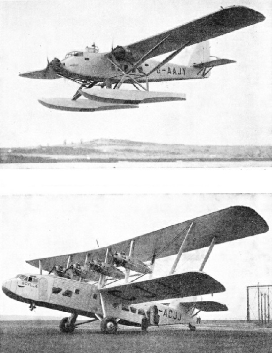 Short Valetta and Short Scylla aeroplanes