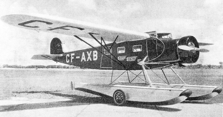 Fairchild 82-B monoplane of Dominion Skyways Limited