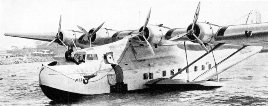 The China Clipper is one of the Martin Model 130 seaplanes